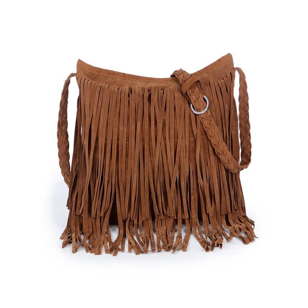 31ee36073b1e Suede Tassel Bag With Weave Strap . . . . . .  tas  shopping  shoes  fendi   girls  luxury  louisvuitton  style  handbag  onlineshop  ootd  love   accessories ...