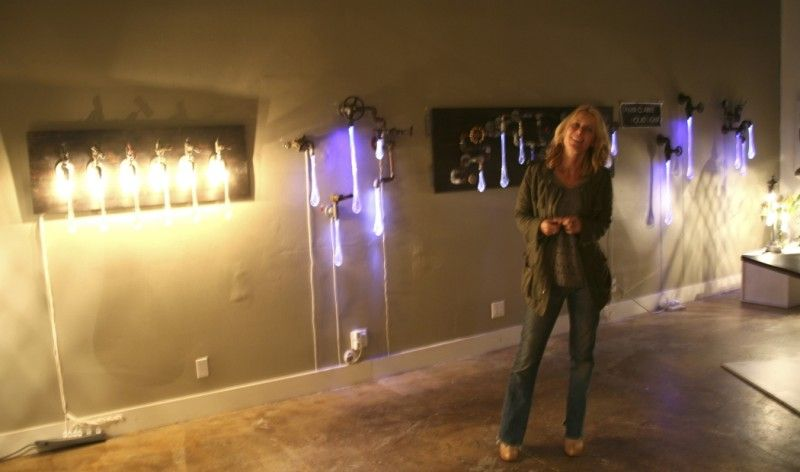 Tanya Clarke, Liquid Light, Altered Space Gallery, Venice Beach