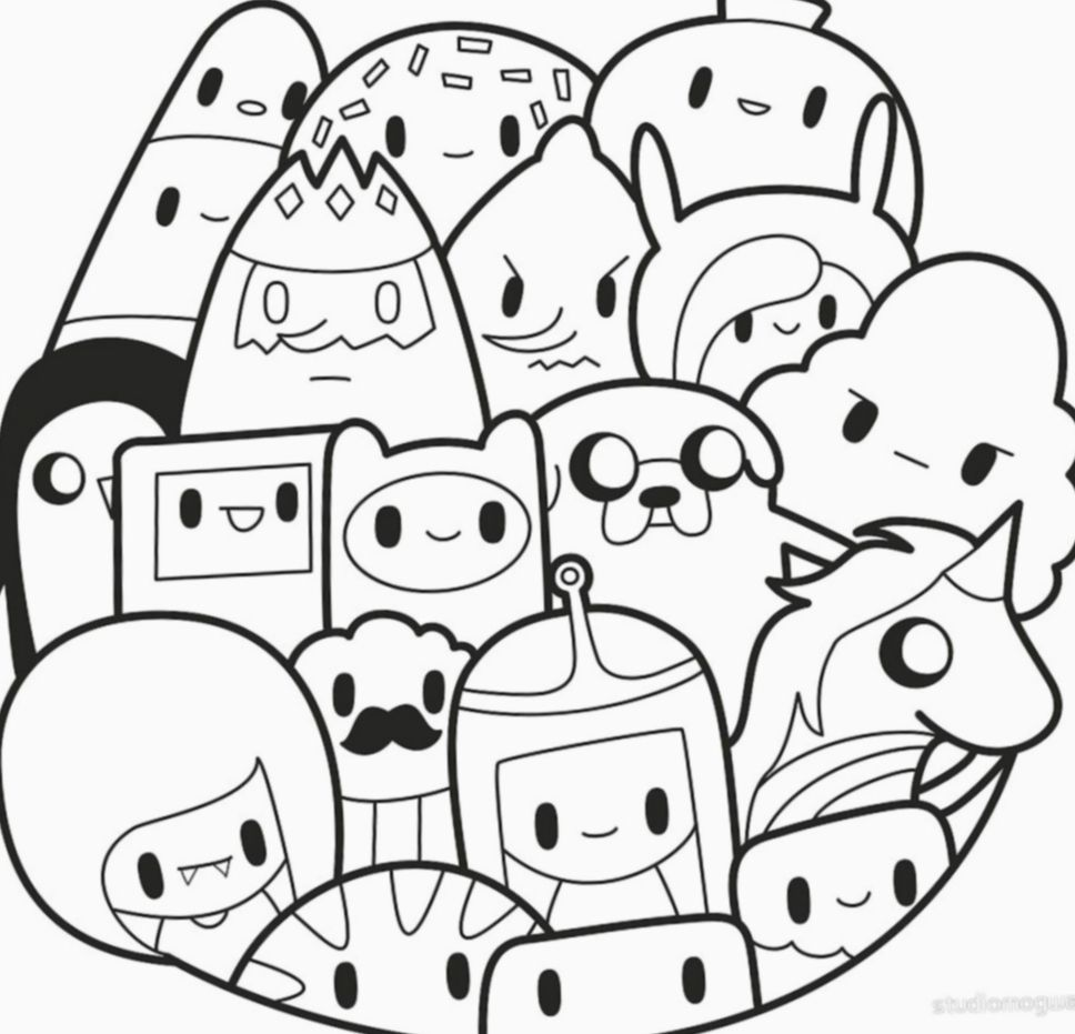 Cute Doodles People Kawaii Miniensaiodiadascriancas Candy Ensaioinfantil Seni Doodle Sketsa Doodle