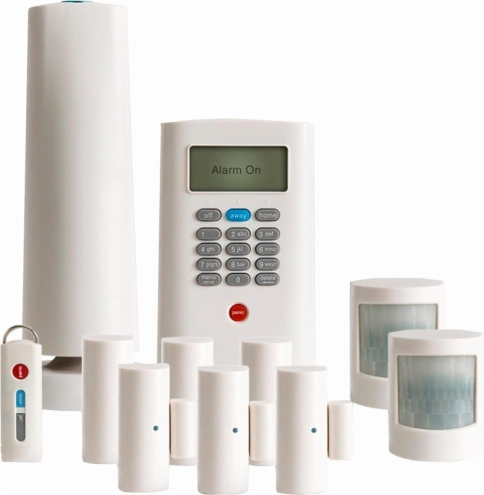 Simplisafe Wireless Home Security System Black Bby Ss3b 01 Home Security Wireless Home Security Systems Simplisafe