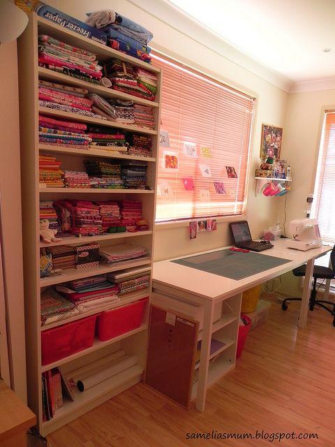 Sewing Room Re Vamp Craft Room Ideas Salas De Costura Ikea