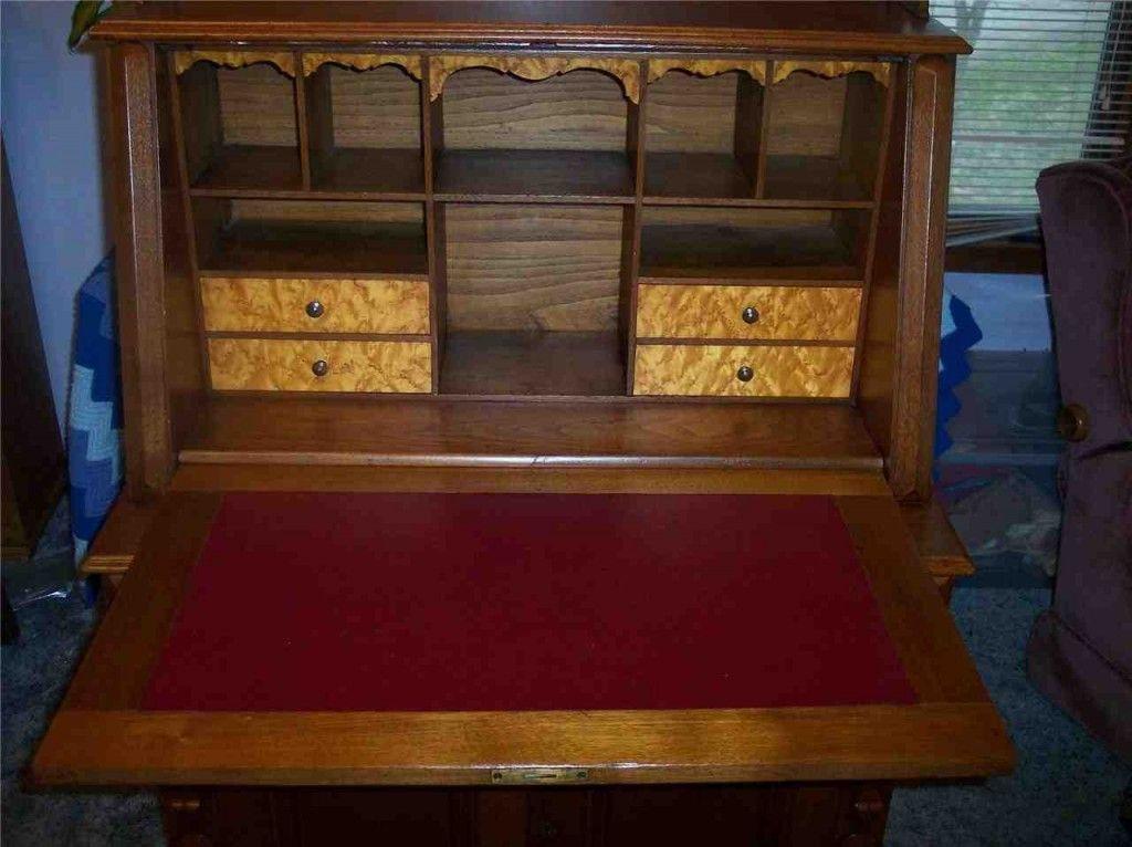 Antique Drop Front Secretary Desk - Antique Drop Front Secretary Desk Secretary Desk Pinterest