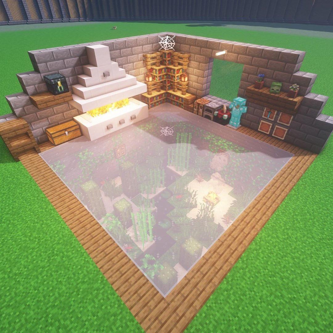 Epingle Par Blanche Sur Minecraft Builds Deco Minecraft Creations Minecraft Maison Minecraft