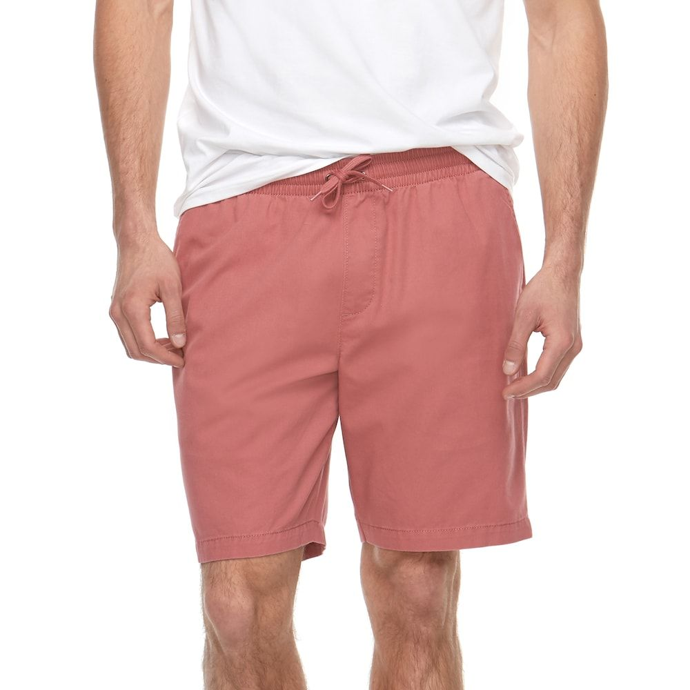"37657377b5cca Big & Tall SONOMA Goods for Lifeâ""¢ Flexwear Modern-Fit Dock Shorts, Drk  Orange"