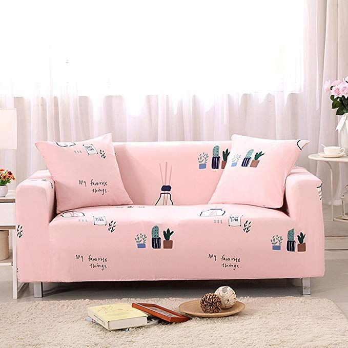 1-4 seater Sofa Cover Floral Couch Cover Protector Elastic Slip Cover Sofa Decor
