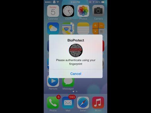 BioProtect App Locker Download Without Jailbreak | YouTube
