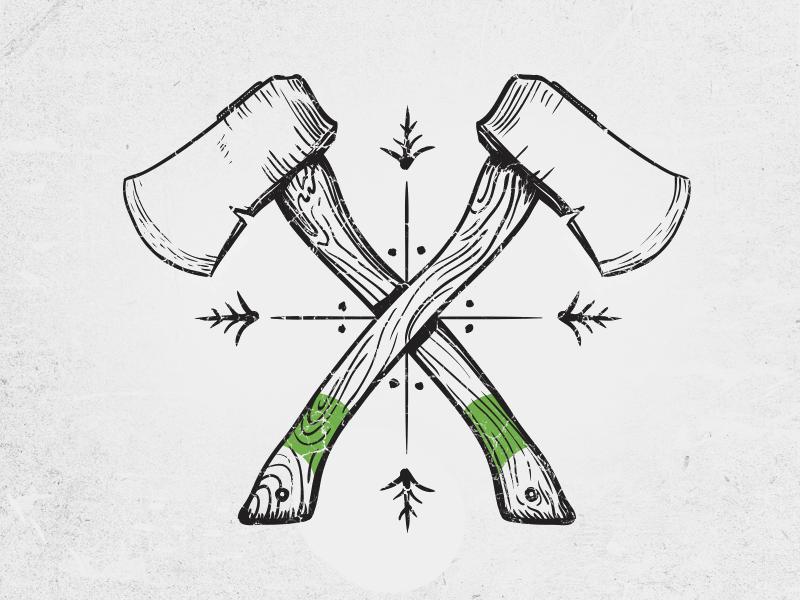 Hatchets Axe Tattoo Viking Tattoos Tattoo Viking