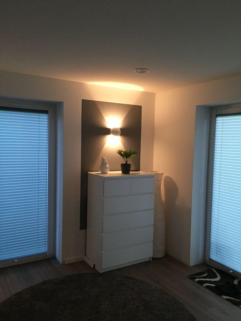 Dimmbare led wandlampen unsere wandleuchten f rs wohnzimmer - Wandlampe indirekte beleuchtung ...