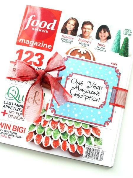 Quick Christmas Ideas Magazine Subscription Gift Subscription Gifts Holiday Gift Tags