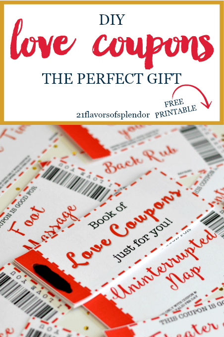 Free Printable Love Coupons The Perfect Gift Love