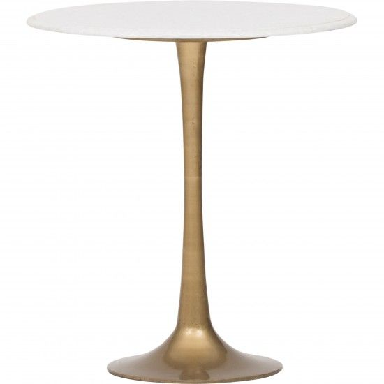 Tulip Side Table White Marble With Images Tulip Side Table