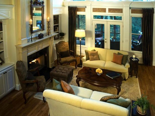 How to Arrange Living Room Furniture with Fireplace and Tv ...