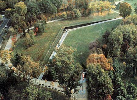 Meaning: Vietnam Veterans Memorial, Maya Lin, Washington Dc, Usa