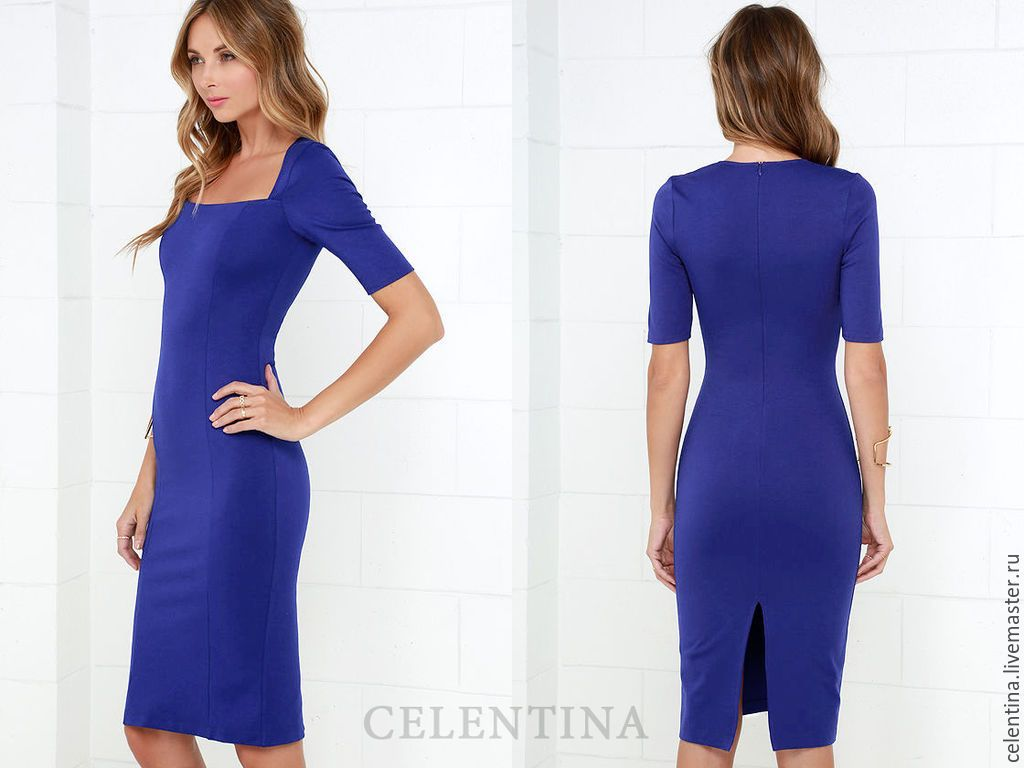 Купить повседневное платье на осень