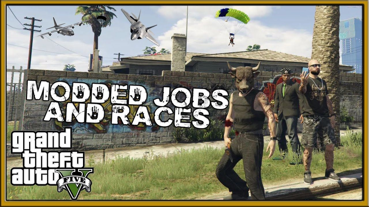 GTA 5 Online Modded Races Jobs with the crew GTA V Online