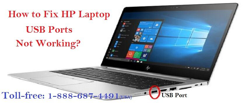 Call 18886874491 how to fix hp laptop usb ports not