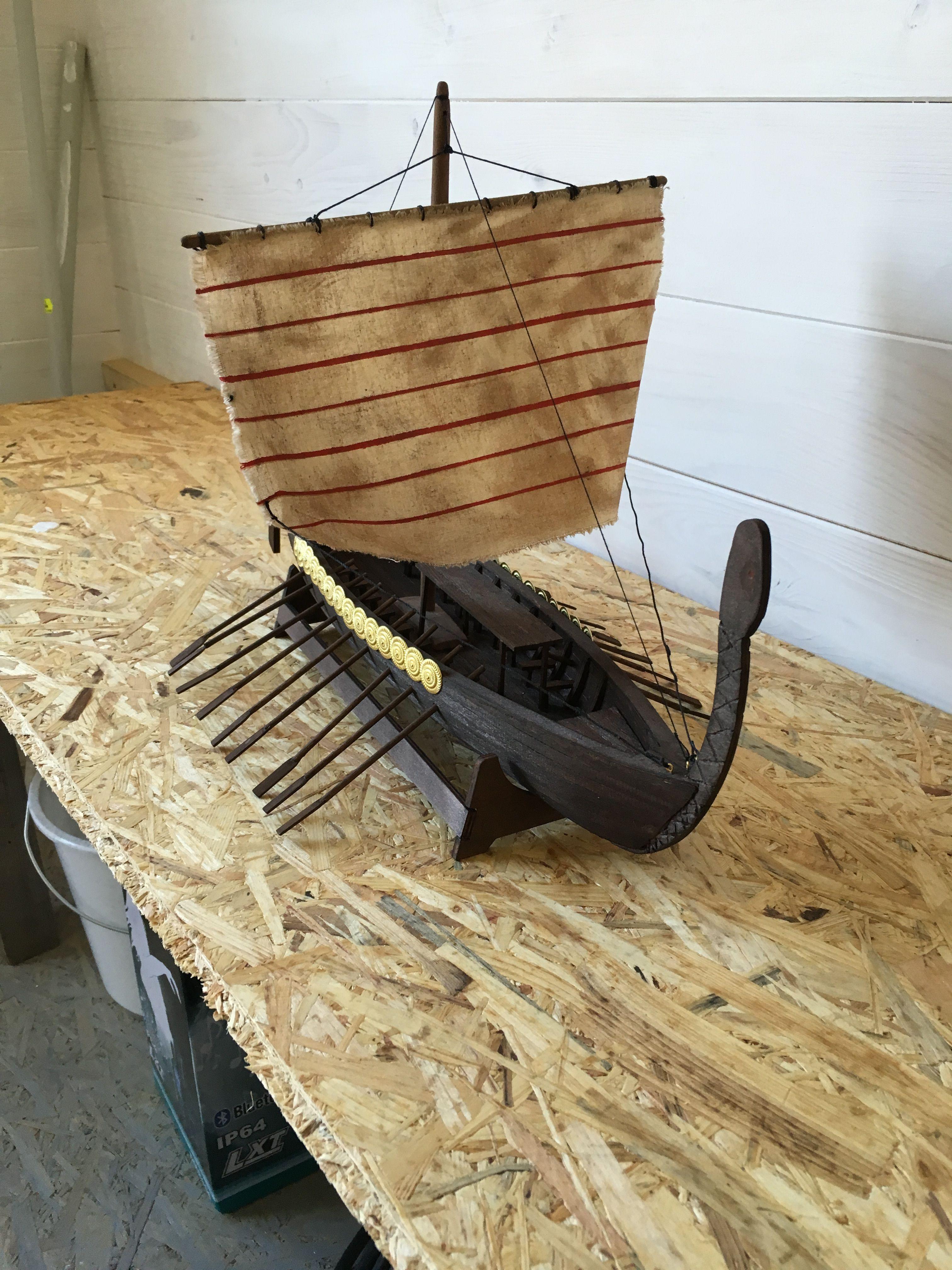 mein erstes selbstgebautes holzschiff | корабли макеты | pinterest