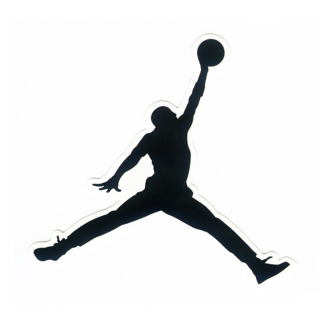 1096 michael jordan logo height 8 cm decal sticker decalstar com