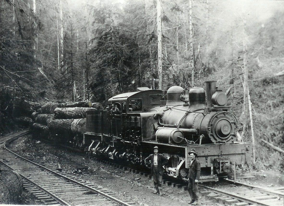 Logging Trains Logging Railroad Shay