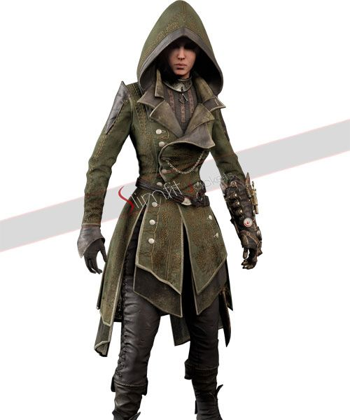 Assassin's Creed Syndicate Lydia Frye Suit Costume in 2019