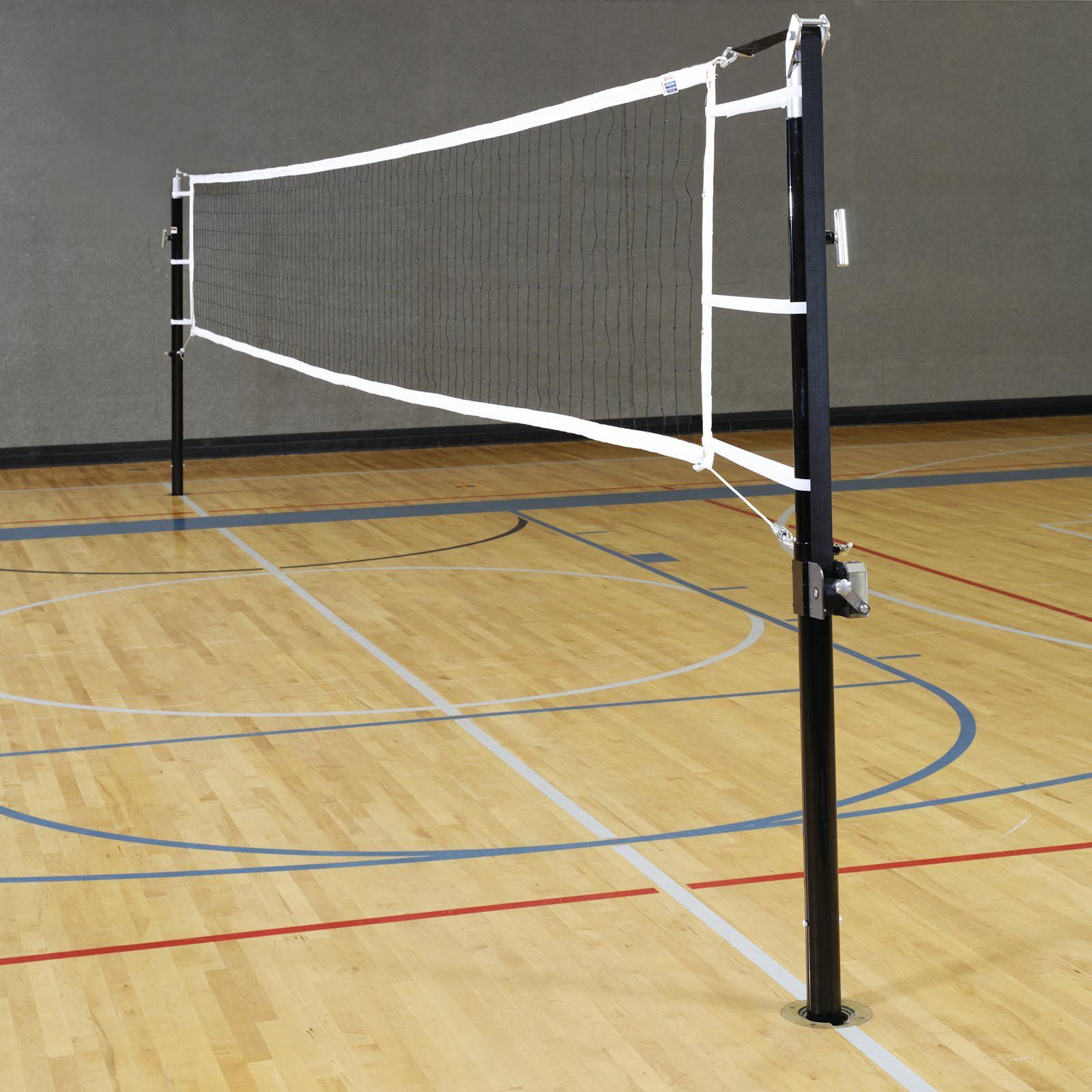 Stackhouse Regulation Volleyball Standards Net System Steel V3s Sys Indoor Volleyball Volleyball Equipment Volleyball Net