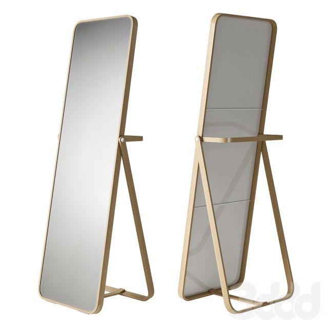 Ikea Ikornnes мебель Standing Mirror Ikea и Mirror