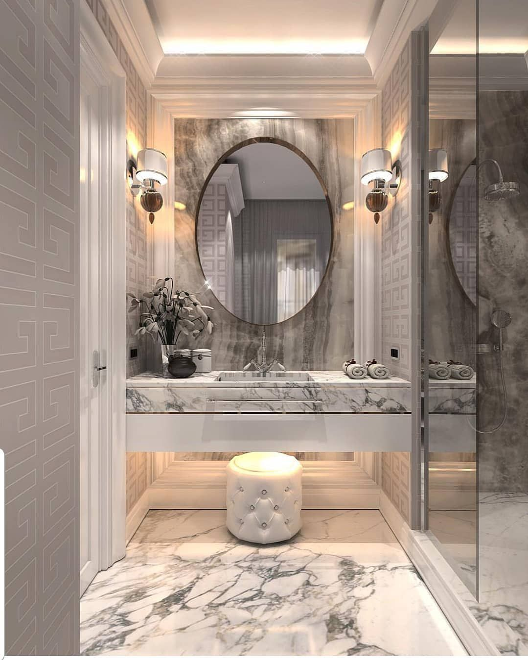 """Favourite Bathroom Home Decor: Grace R On Instagram: """"These Designs Took My Breath Away"""
