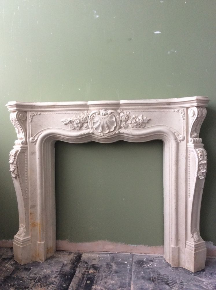 NEW Grand Ornate Louis Fireplace Surround In Home, Furniture U0026 DIY,  Fireplaces U0026 Accessories
