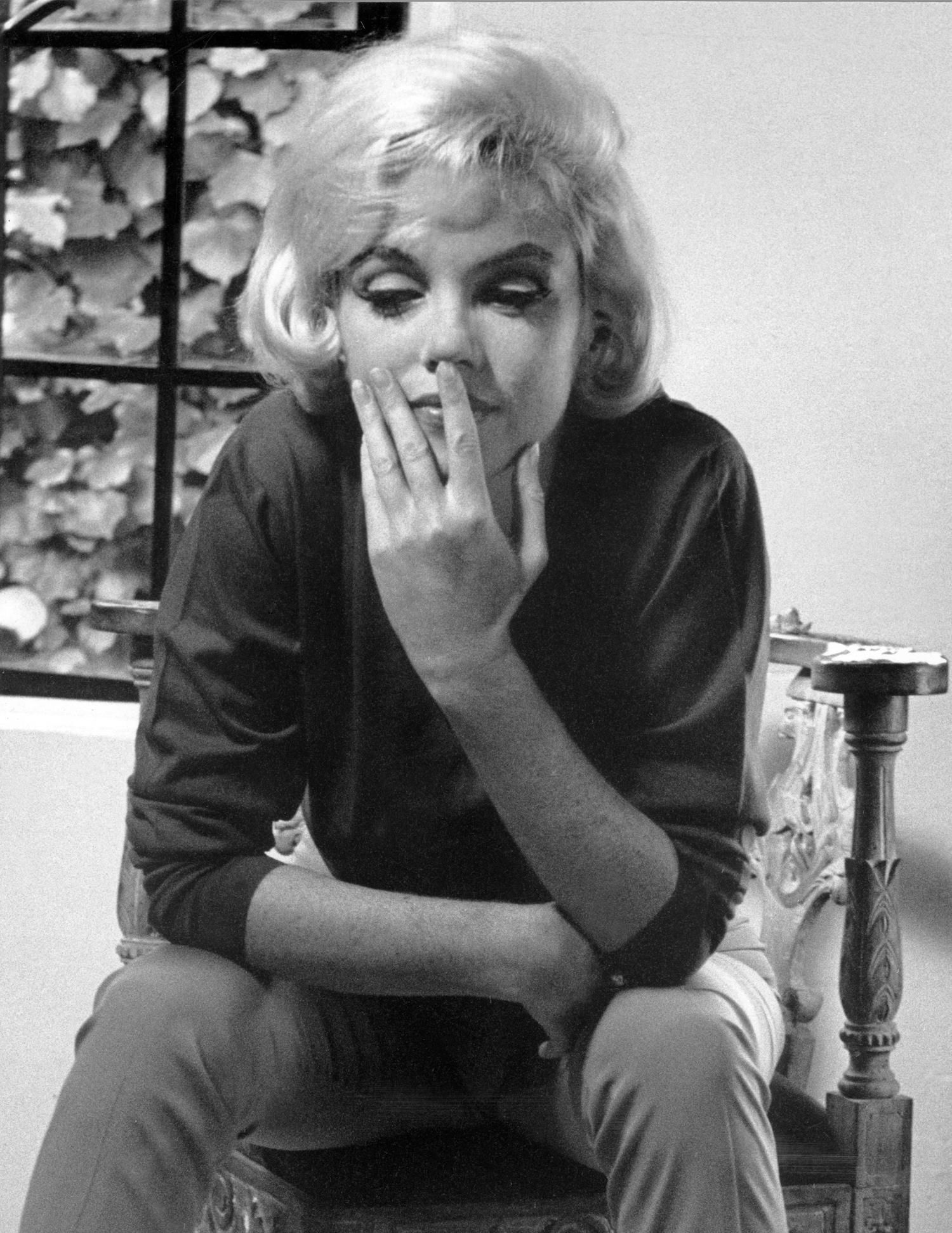 Marilyn At Home During Her Life Interview With Richard Meryman 4