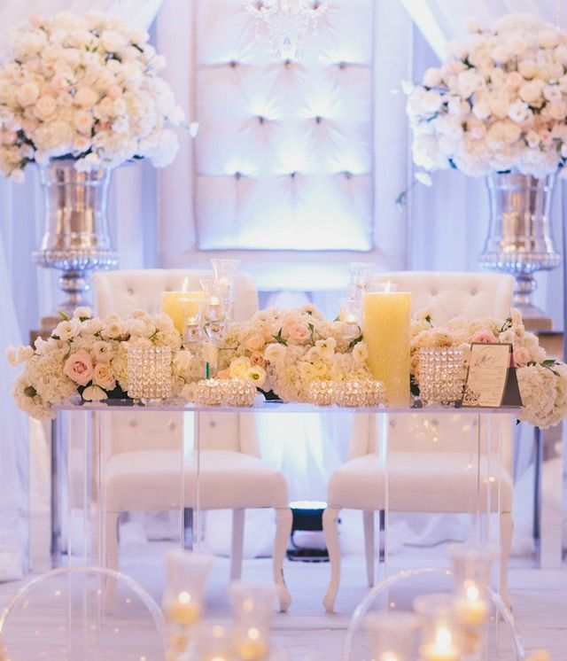 Wedding Head Table Decoration Ideas: 21 Sweetheart Table Ideas For Weddings
