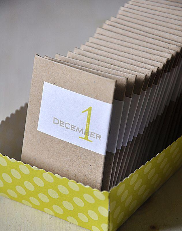 15+ Christmas Advent Calendar Ideas Holiday Christmas Pinterest