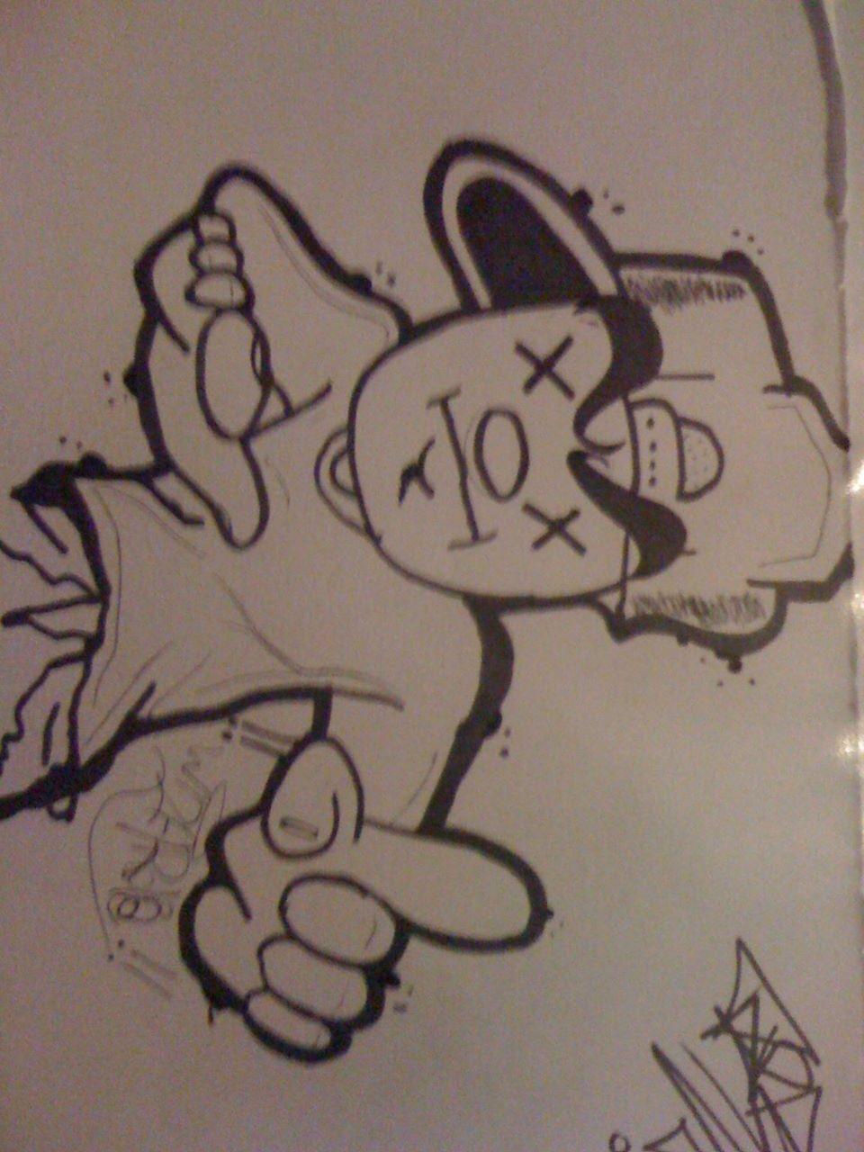 Grafiti Nama Keren : grafiti, keren, Graffiti, Character, Graffiti,, Drawing
