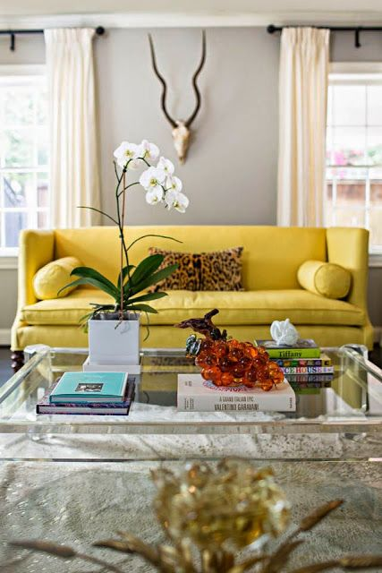 Pin On Projetos Para Experimentar Living room ideas yellow sofa