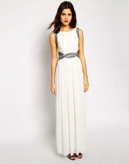 e5f6637ac vestidos de blanco largo para fiesta