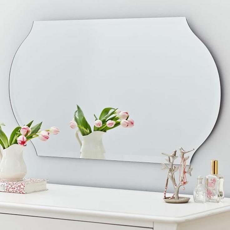 Romantic Mirror Framed Mirror Wall Mirror Wall Decor