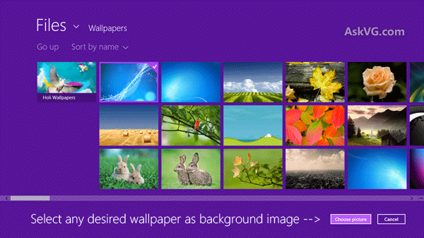 How to Change Lock Screen Background Image in Windows 8 and Later