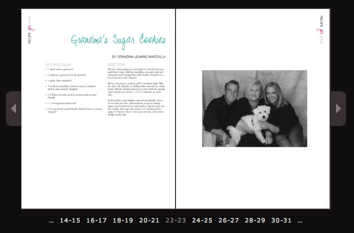 pages book templates