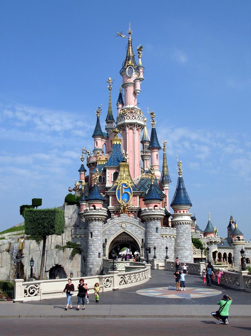 Disneyland Resort Paris Scenic Places