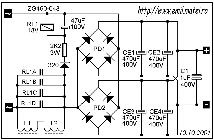 soft start circuit schematic