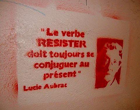 Lucie Aubrac résistante française