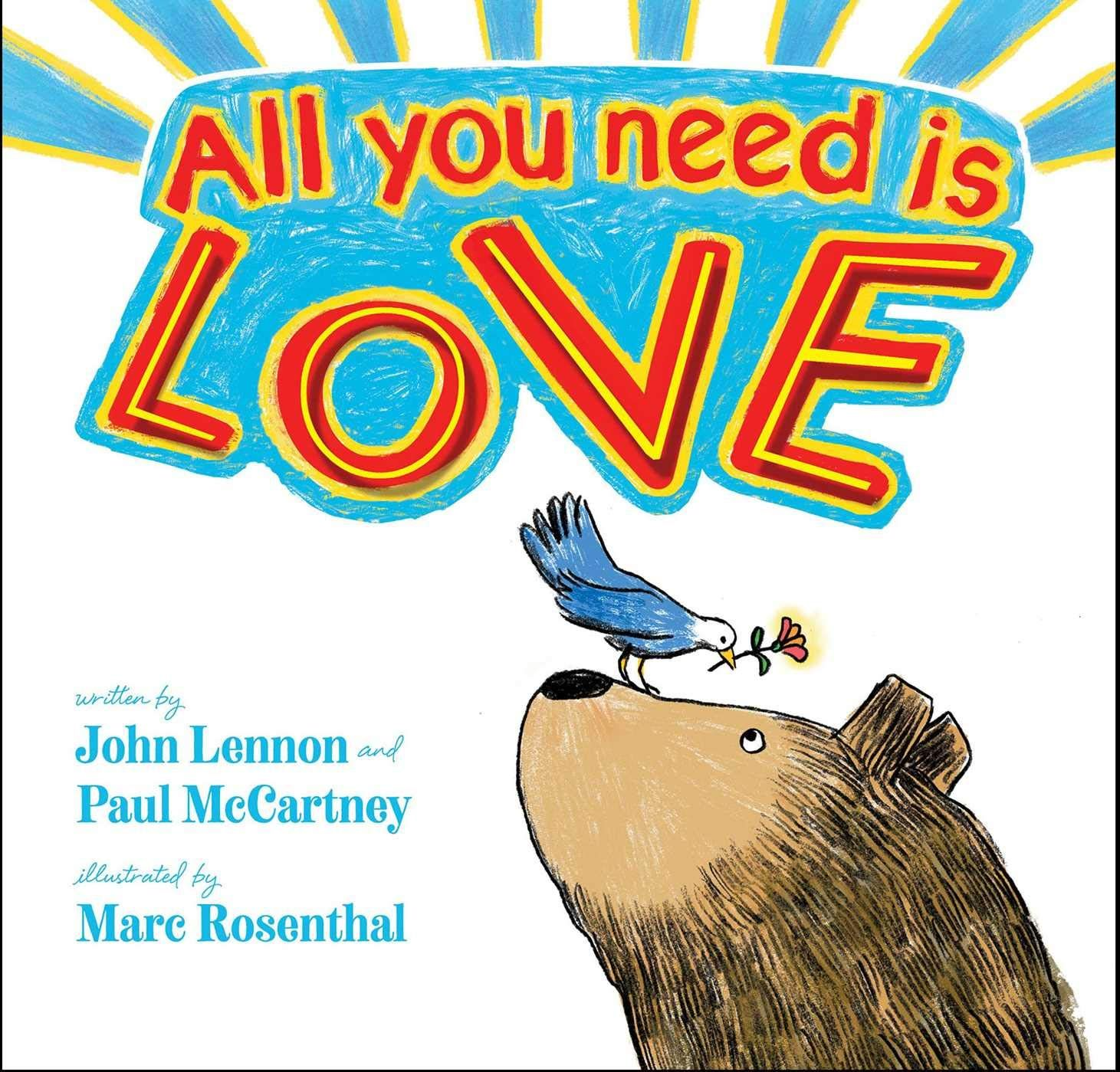 All you need is love hardcover january 29 2019
