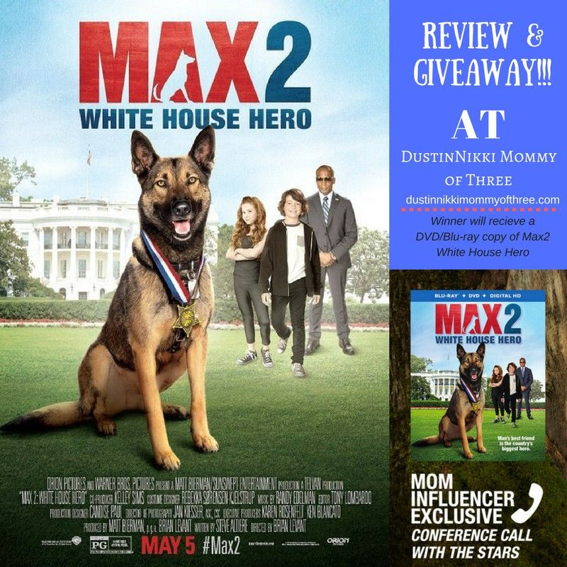Max 2 White House Hero Blu Ray Review Giveaway Max2 Spon