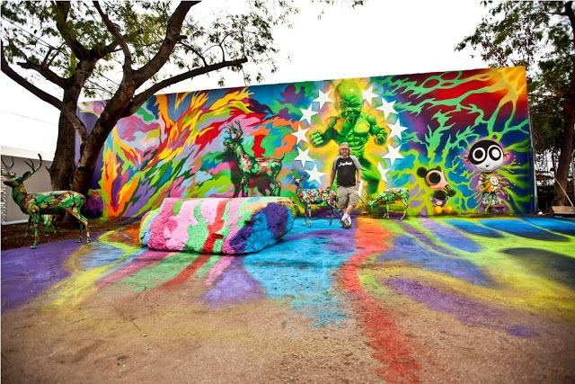 Wynwood Wall Miami Arte | Color | Pinterest | Wynwood walls miami ...