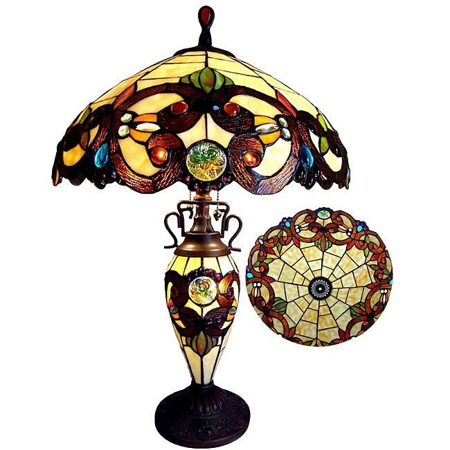 Online Shopping Bedding Furniture Electronics Jewelry Clothing More Victorian Table Lamps Stained Glass Table Lamps Table Lamp
