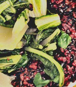 Green Tea Black Rice & Bok Choy  Vegan & Gluten Free