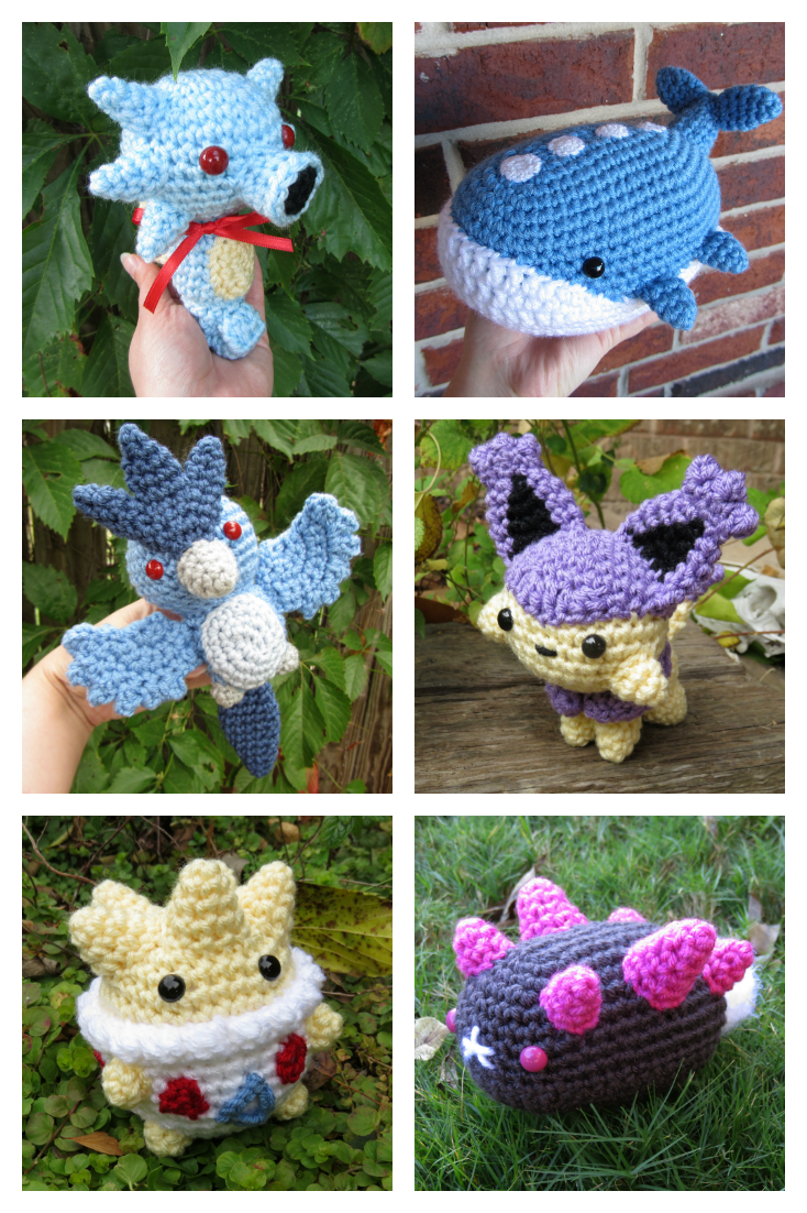 Lugia chibi | Crochet pokemon, Pokemon crochet pattern, Crochet ... | 1102x734