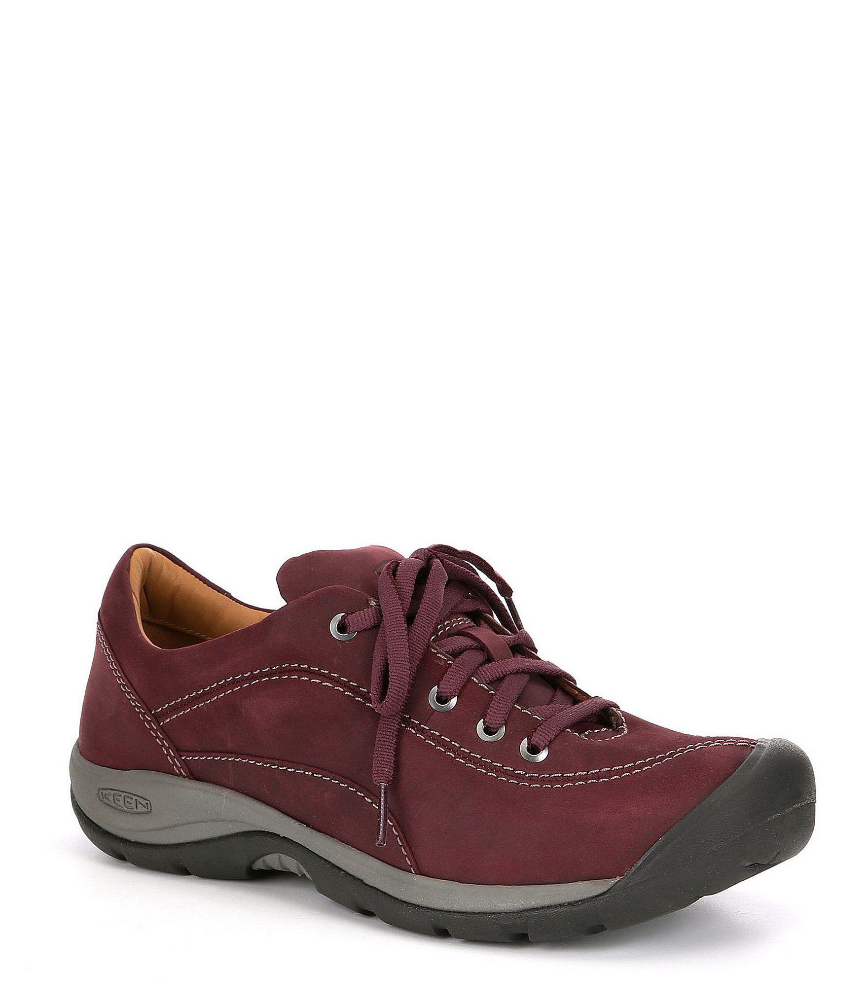 Keen Presidio II Oxford Sneakers Black/Steel Grey 7M