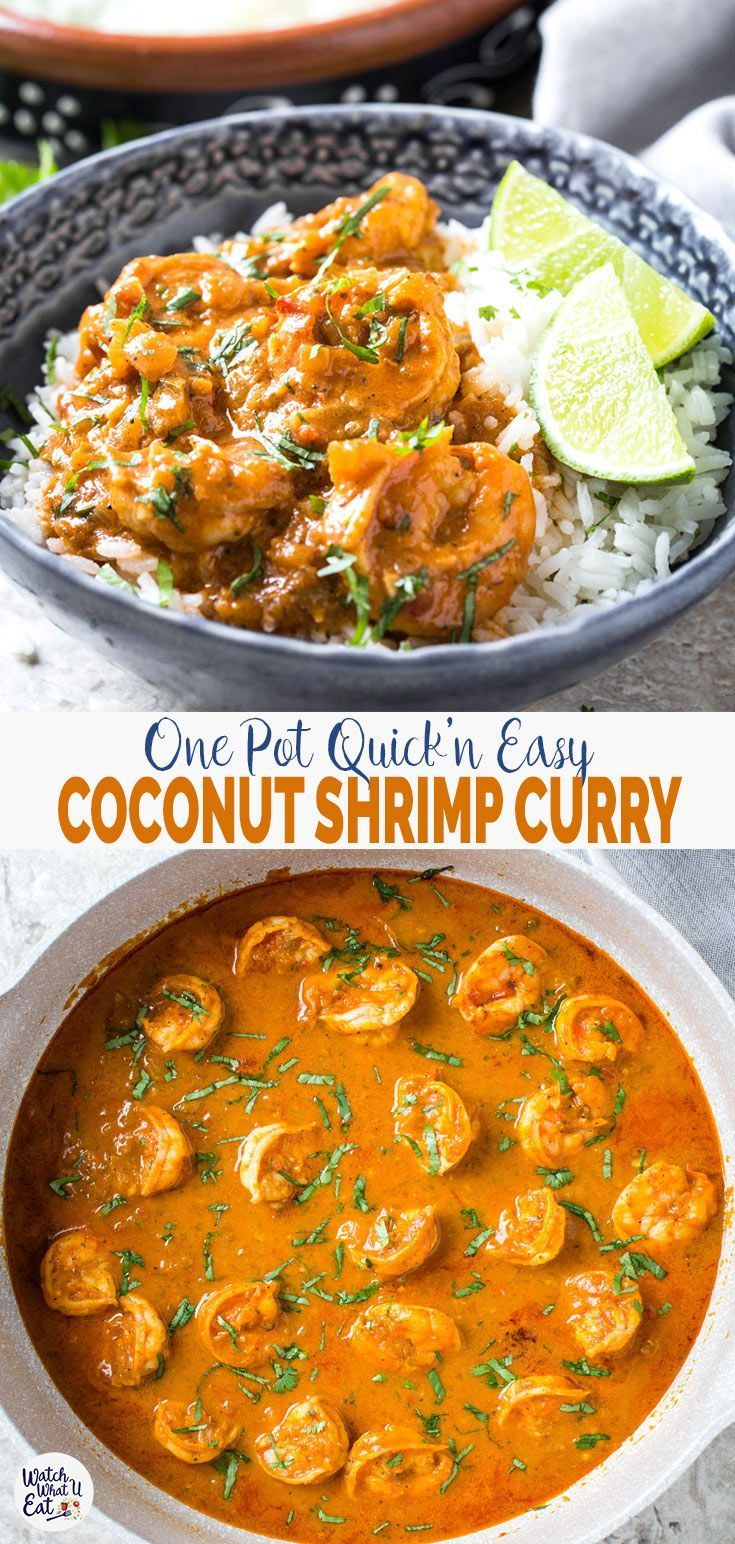 Quick Easy And Healthy Coconut Shrimp Curry images