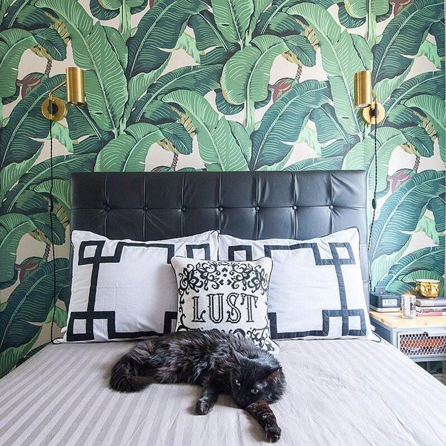 Convierte tu casa en un jard n tropical con papel pintado - Papel pintado tropical ...