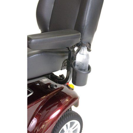 Drive Medical Power Mobility Drink Holder | Wheelchair